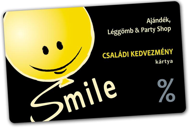 Smile kedvezménykártya