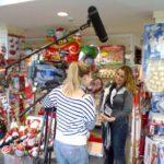 RTL Klub Fókusz forgatás a Smile Shopban