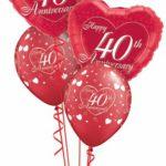 40-es szíves luficsokor évforduóra