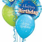 60-as Születésnapi kék luficsokor