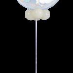 Babaváró héliumos lufi talppal