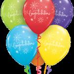 Héliumos bubbles luficsokor ballagásra