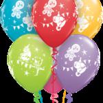 Cirkuszos héliumos nagy bubbles luficsokor