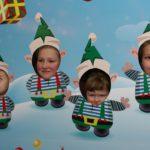 A gyerekek a Mosoly Alapítvány Mikulás Ünnepségén