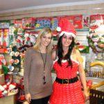 Peller Mariann is eljött a Smile Shop Mikulás ünnepségére